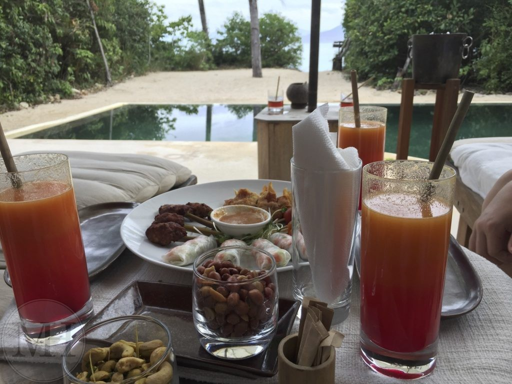 Six Senses afternoon snack