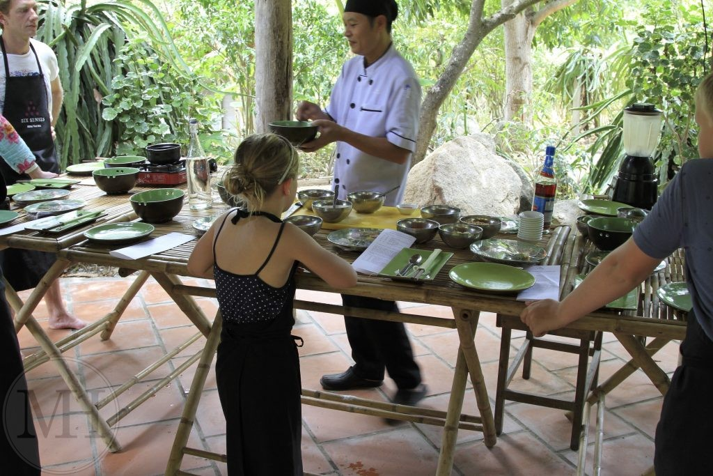 Six Senses cooking class