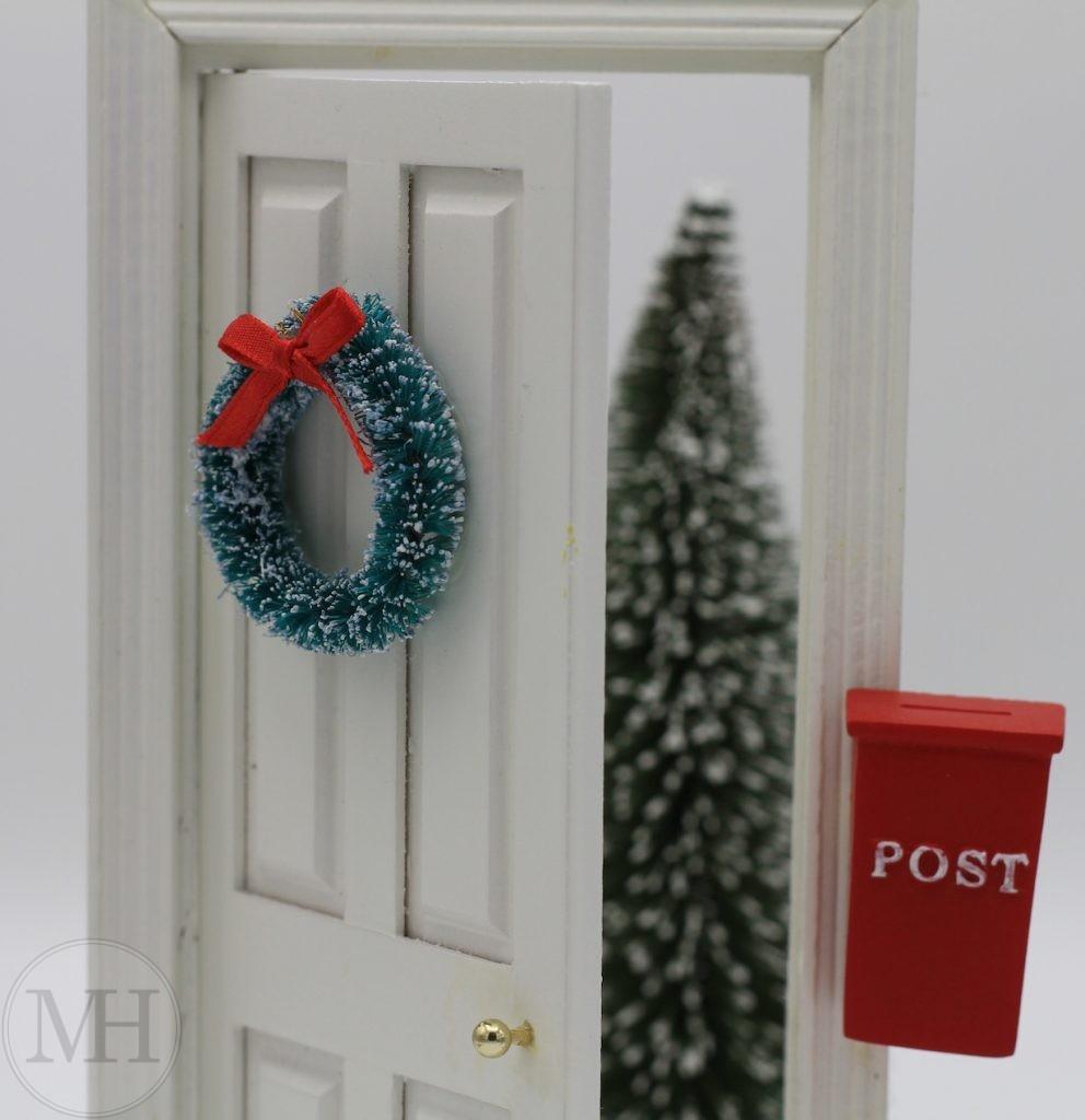 Nissedør drillenissens hjem julemanden