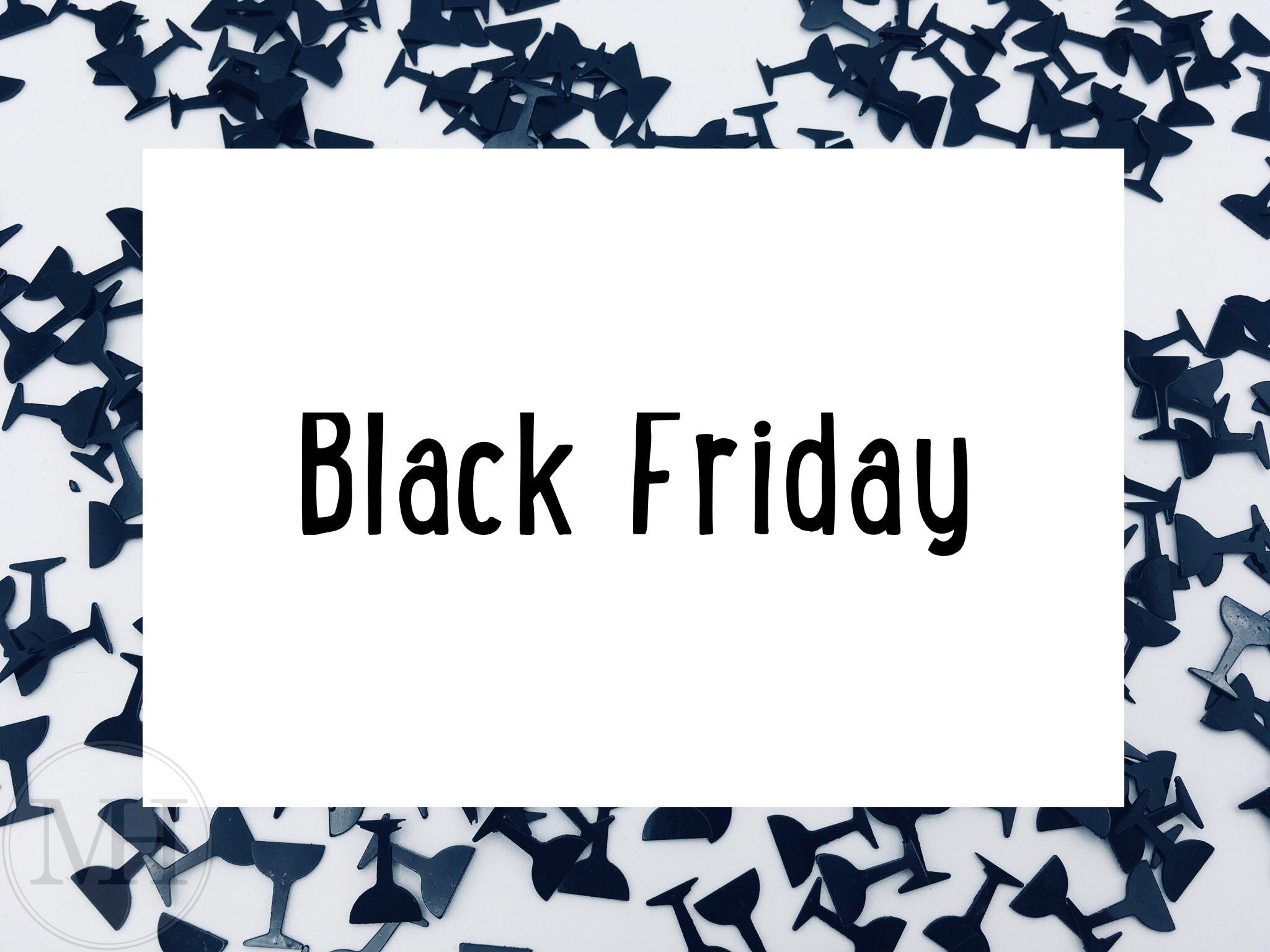 Black Friday og Cyber monday