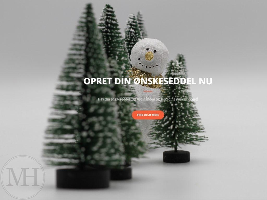 min-ønskeseddel.dk