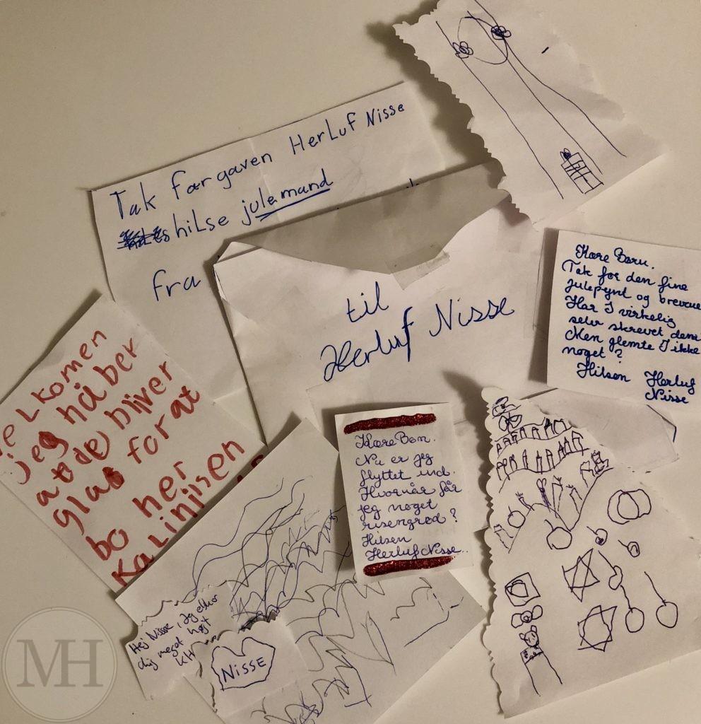 Breve til drillenissen, brever fra drillenissen