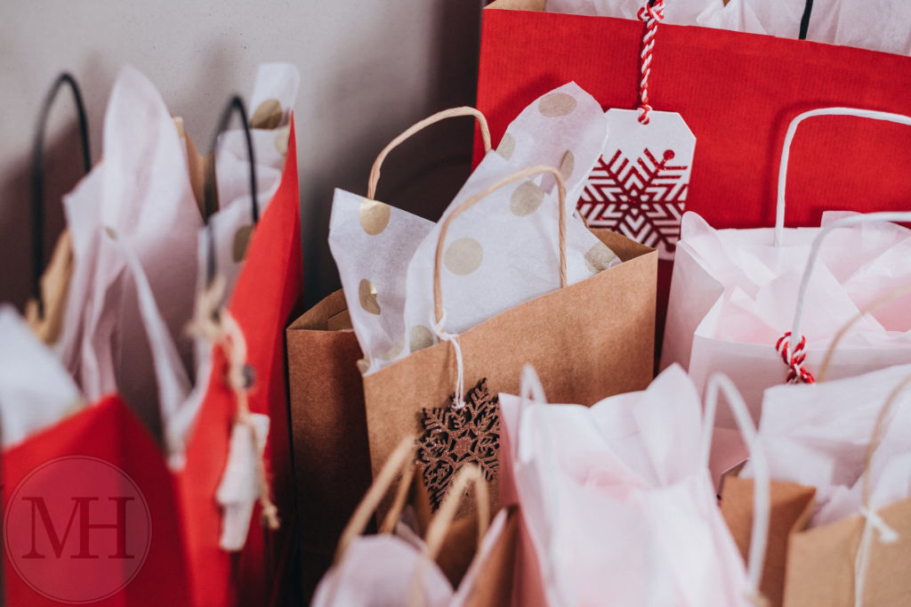 Shopping julegaver juleforberedelse