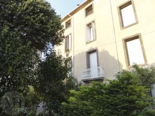Hus i Agde Frankrig