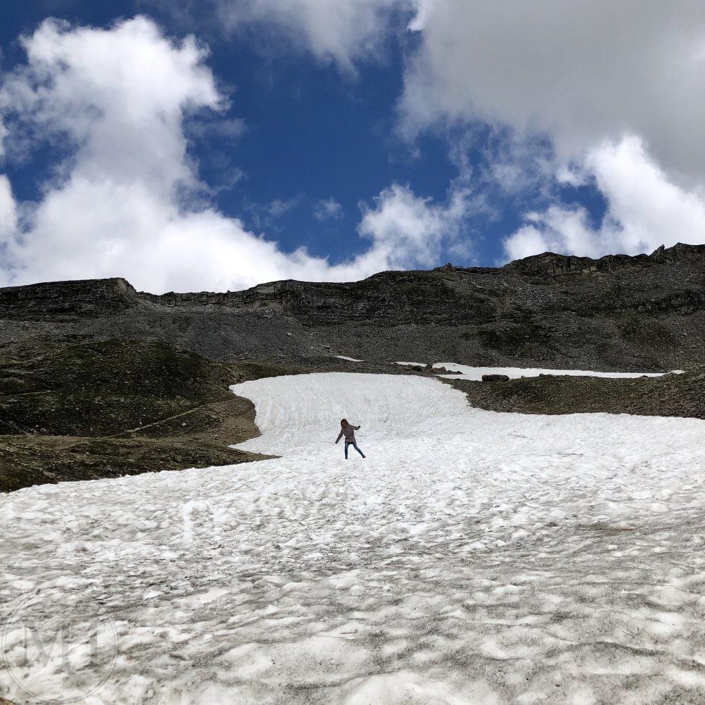 sne i juli